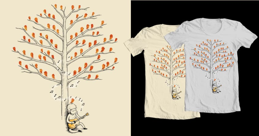 Bringing Back The Life by temyongsky on Threadless