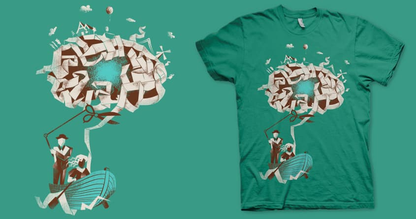Just a Thought by iamrobman and jeromeberena on Threadless