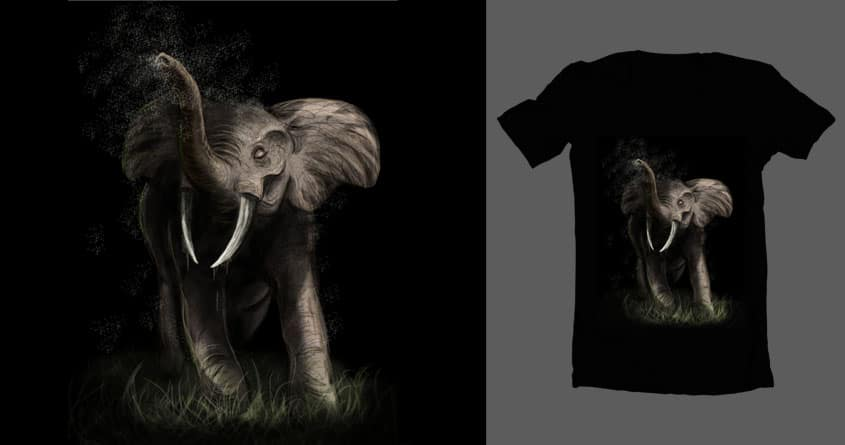 African Elephant  by Nadilyn on Threadless