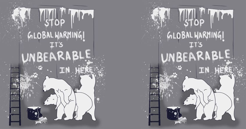 Unbearable by bandy on Threadless