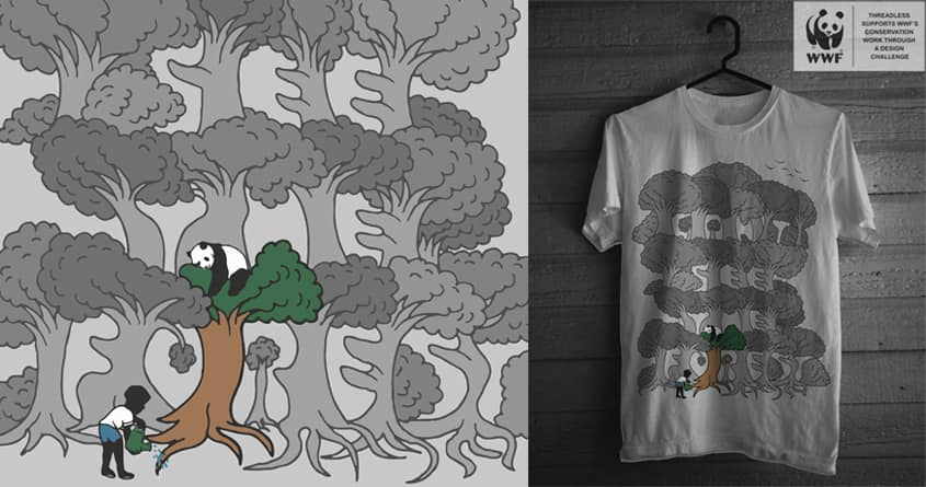Can't See The Forest by ArTrOcItY on Threadless