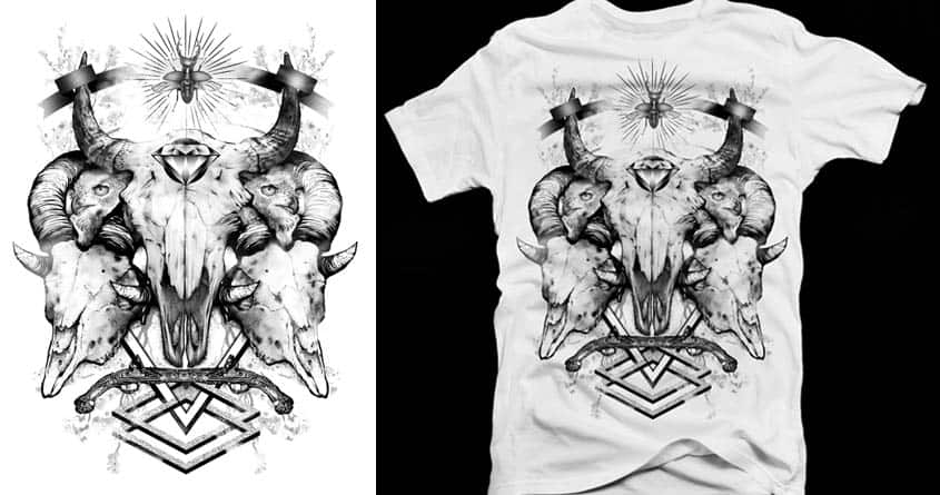 dust to ashes by Diogohg on Threadless