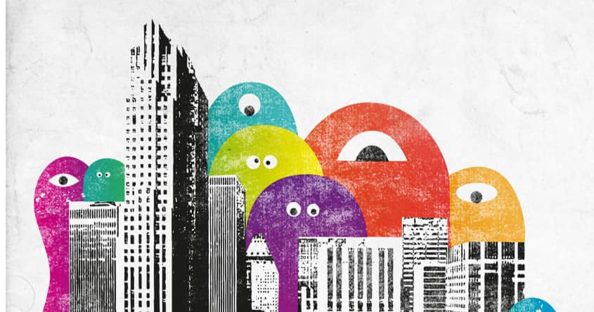City of monster by nils285 on Threadless