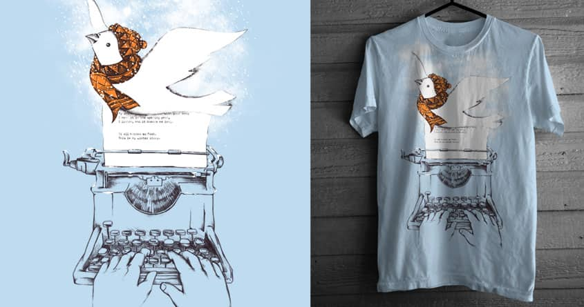 My winter story by alfboc on Threadless