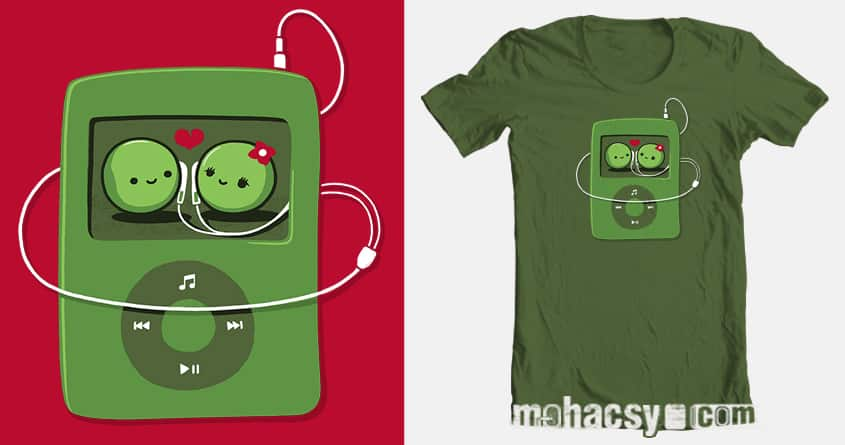 two peas in a pod by Andreas Mohacsy on Threadless