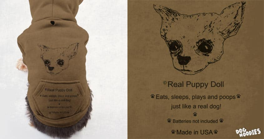 Real Puppy Doll by ArTrOcItY on Threadless