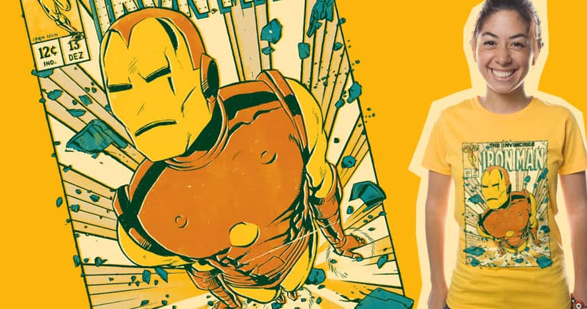 Invincible by mathiole and hafaell on Threadless