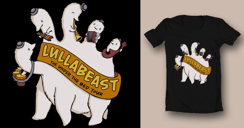 Lullabeast by erikadudes on Threadless
