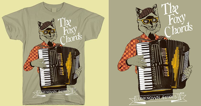 The Foxy Chord Band by shesmatilda on Threadless