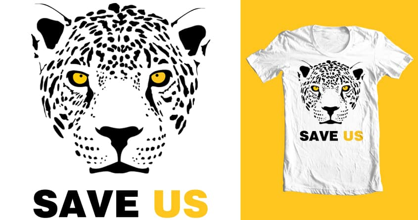 Save Us by davidsoez on Threadless