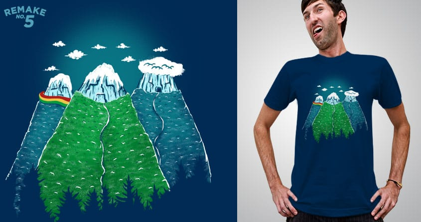 Cold Mountain by eQuivalent and skitchism on Threadless