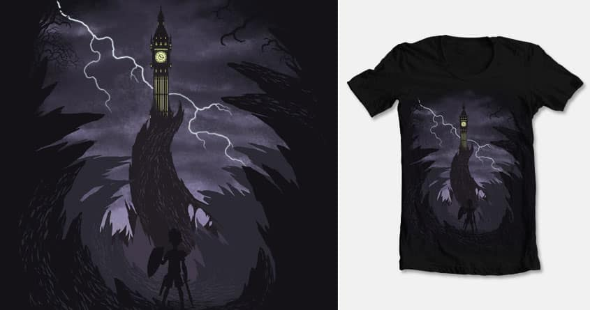 The Clock Tower by Chimaera Wear on Threadless