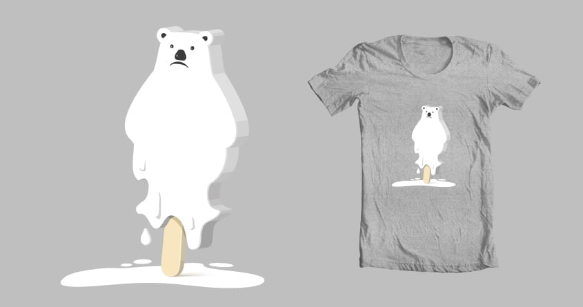 Melting Away by janamis on Threadless