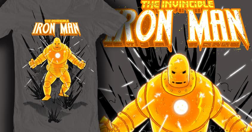 The Invincible Iron Man by electric_method on Threadless