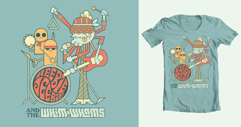 Heebie Jeebie and the Whim-Whams by spencer fruhling on Threadless
