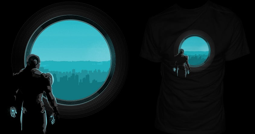 Heart of the CIty by yurilobo on Threadless