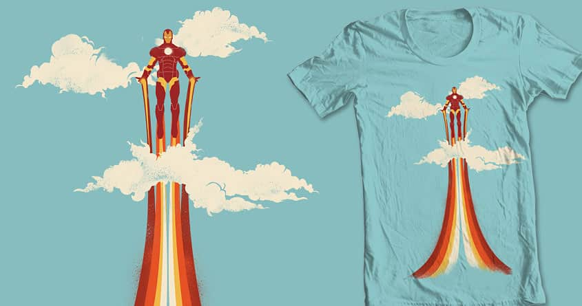 Through the Clouds by DontCallMeBlanket on Threadless