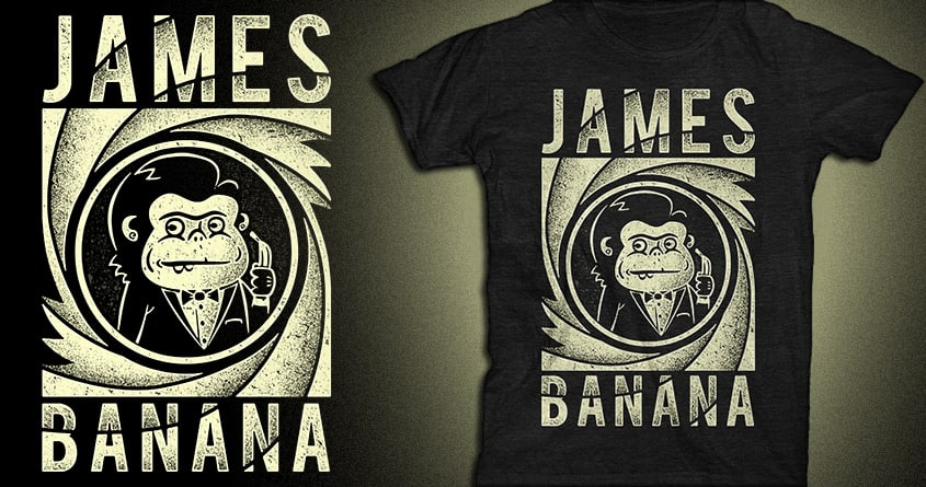 James Banana Band by Binxent on Threadless