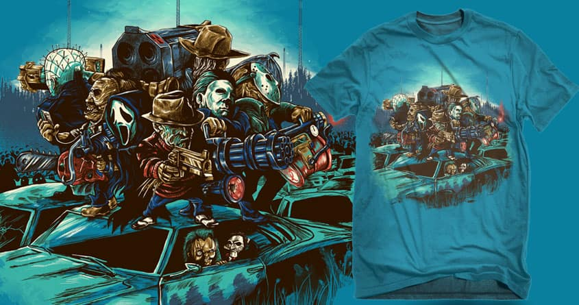 dawn of the nightmare  by bokien on Threadless