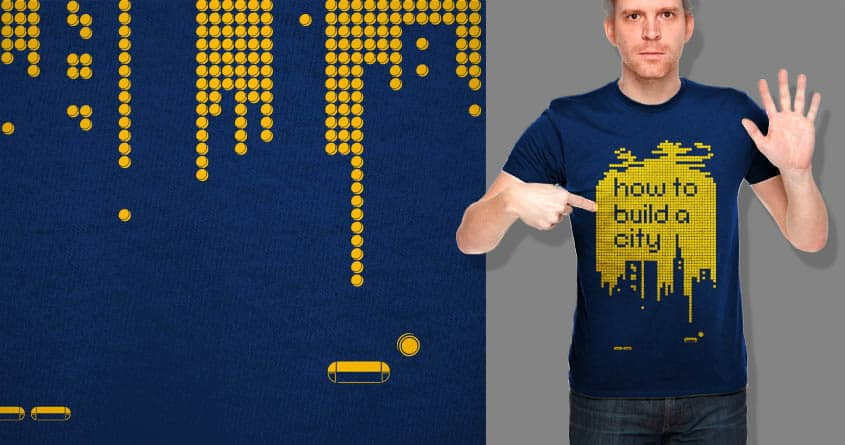 How to Build a City by kako64 on Threadless