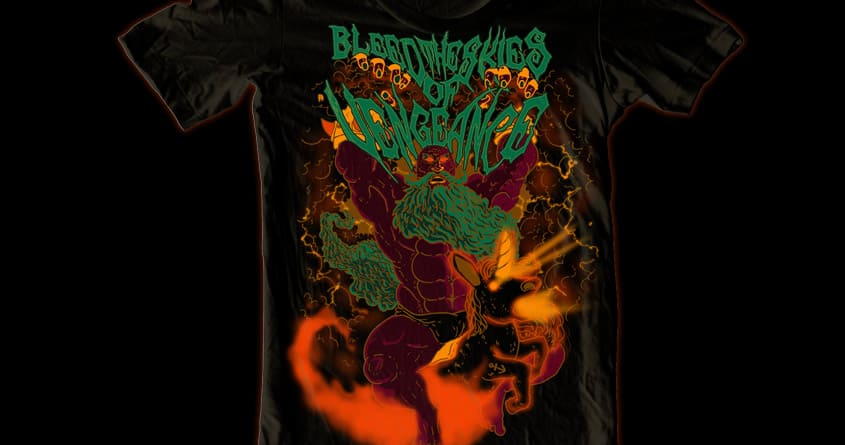 Bleed the Skies of Vengeance by electric_method on Threadless