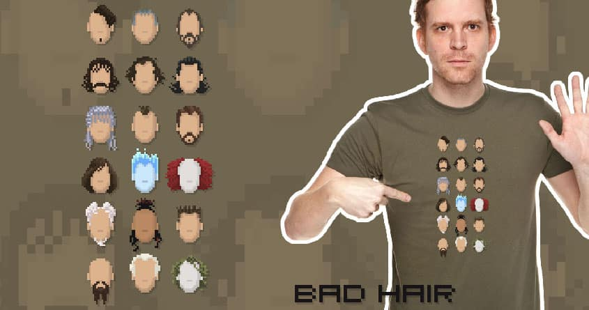 Bad Hair by spineless05 on Threadless