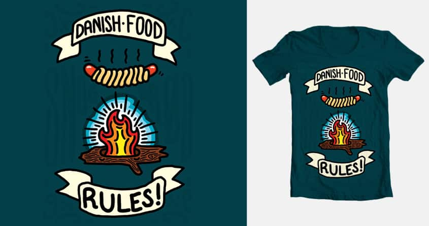 Danish Food Rules by scosurf on Threadless