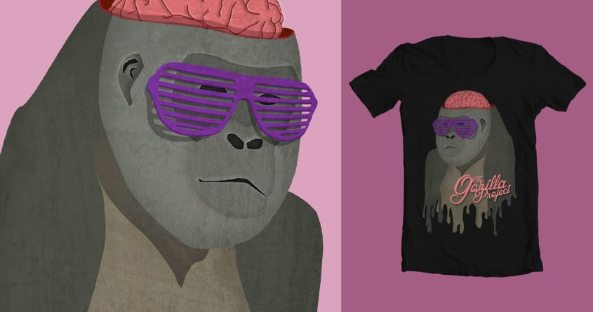 The Gorilla Project by darylnolasco on Threadless