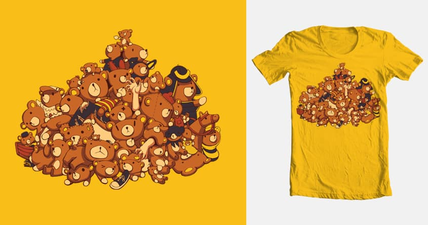 Bearied Alive by Hellomelo on Threadless
