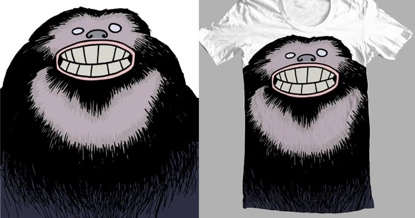 Sasquatch Face by FireAwayMarmot on Threadless