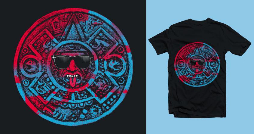 Aztec Rocker by IvanJLong on Threadless