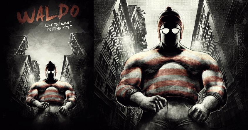 Badass Waldo by alextwist on Threadless