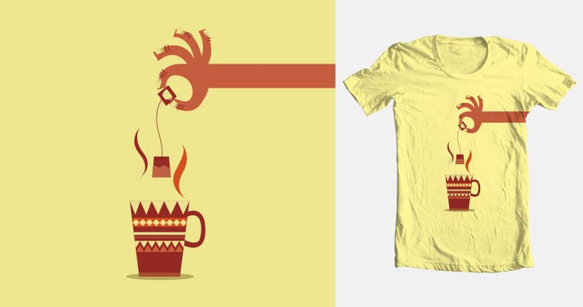 Tea time by franciscovaldes on Threadless