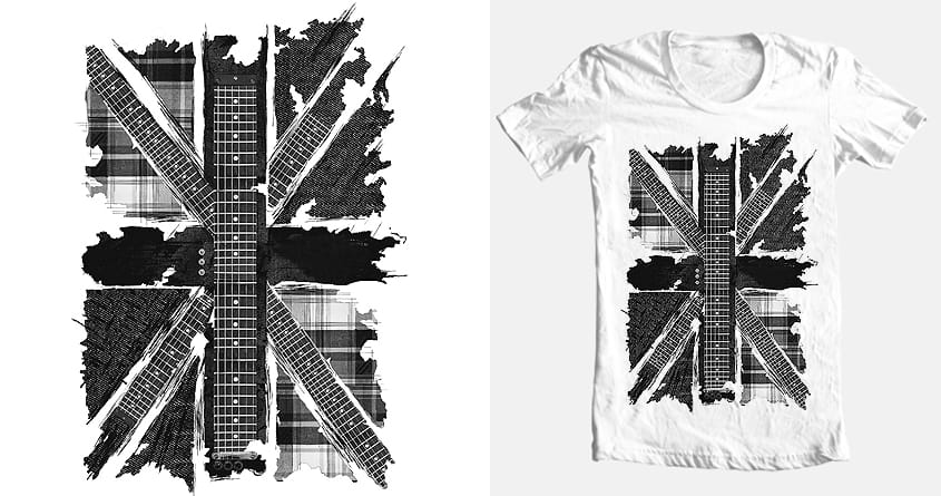 respect UK by beatbeatwing on Threadless
