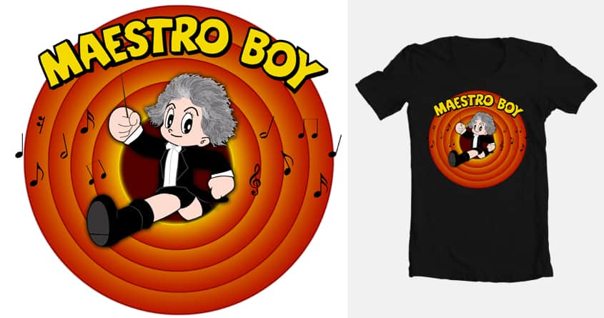 Maestro Boy by agunstreetgirl on Threadless