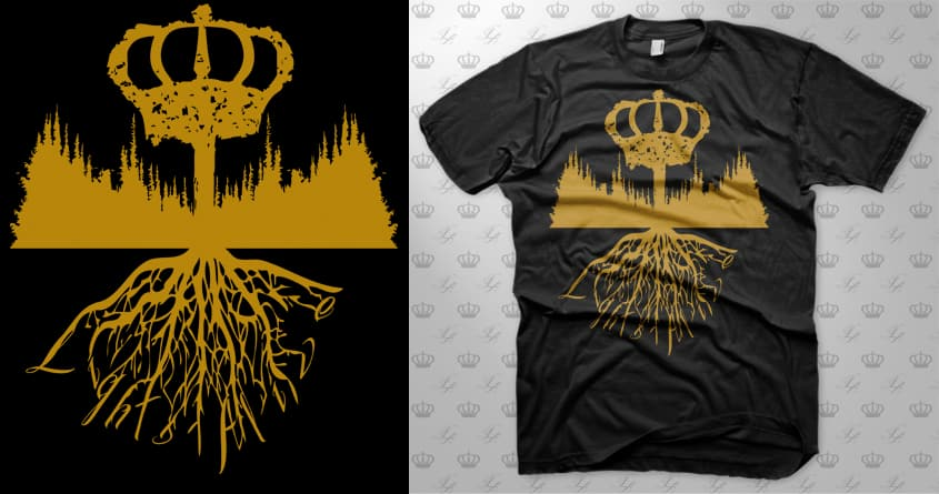 Royal Oak by lightsalive on Threadless