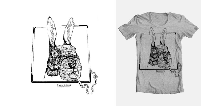 Woody Rabbit by brandon.lawes on Threadless