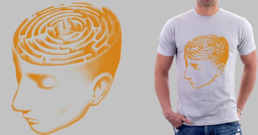 lost in mind by ORNUMMARK on Threadless