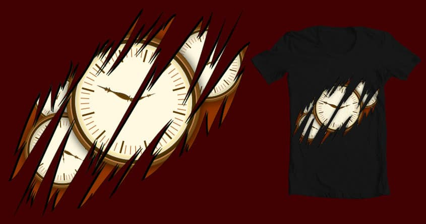 MY time by gac714 on Threadless