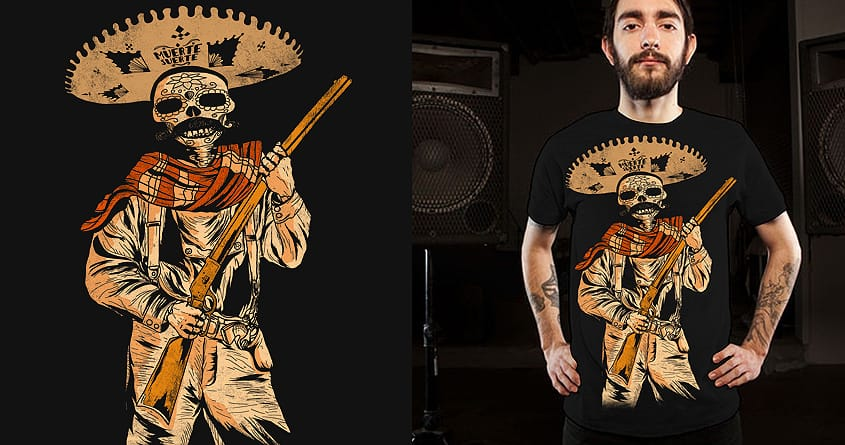 Vintage Mexican Soldier by shesmatilda on Threadless