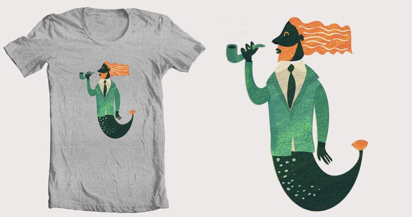 Sea creature by menulis on Threadless