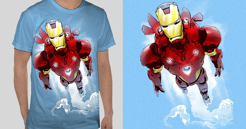Blast Off !  by shesmatilda and dzeri29 on Threadless