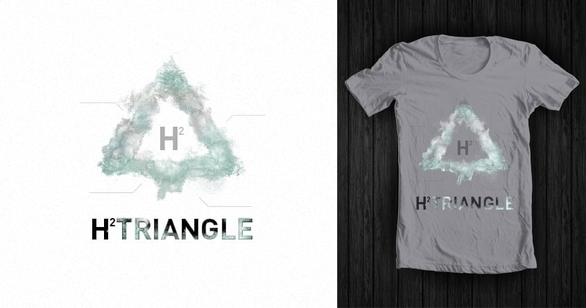 H2TRIANGLE TEE by JakeOxley on Threadless