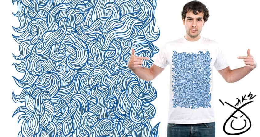 waves by jkeys on Threadless