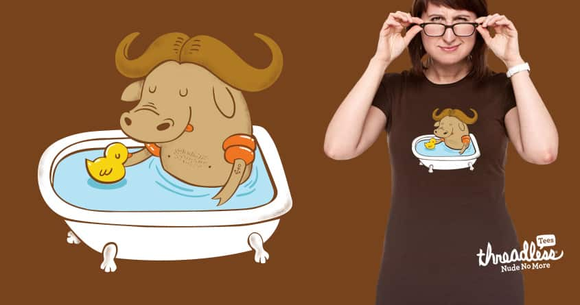 Water Buffalo by ppmid and goliath72 on Threadless