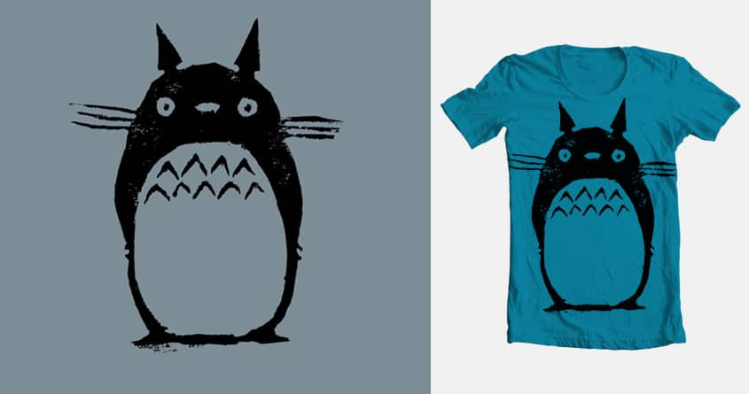 Totoro by Tom Henderson on Threadless