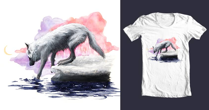 Arctic Wolf by Anni83 on Threadless