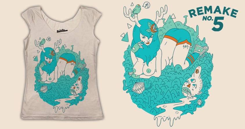 Earthy Delights II by TheInfamousBaka and sweet n sour on Threadless