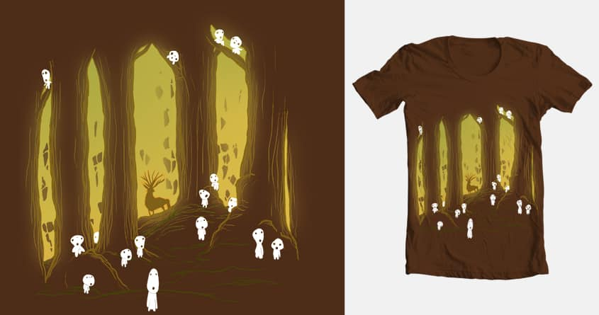 THE SPIRIT OF THE FOREST by davidpavon on Threadless
