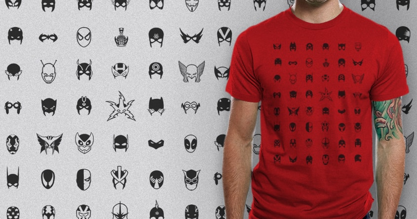 a collection of masks by boostr29 on Threadless